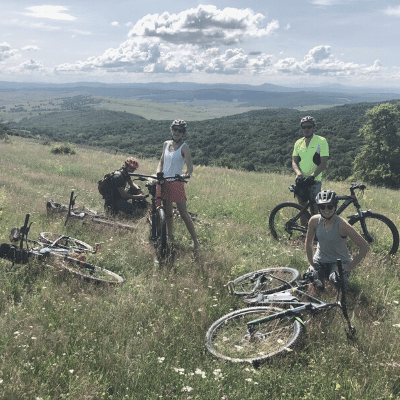 The Slow Cyclist, Transylvania
